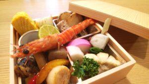 池田屋本店 年末の特製ばら寿司について