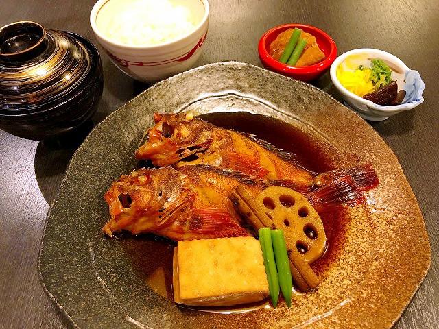 煮魚定食 1,000円(税別)