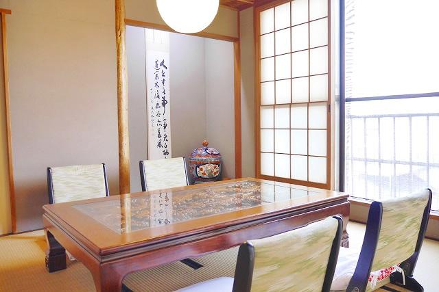 お茶室(旧館 3F)