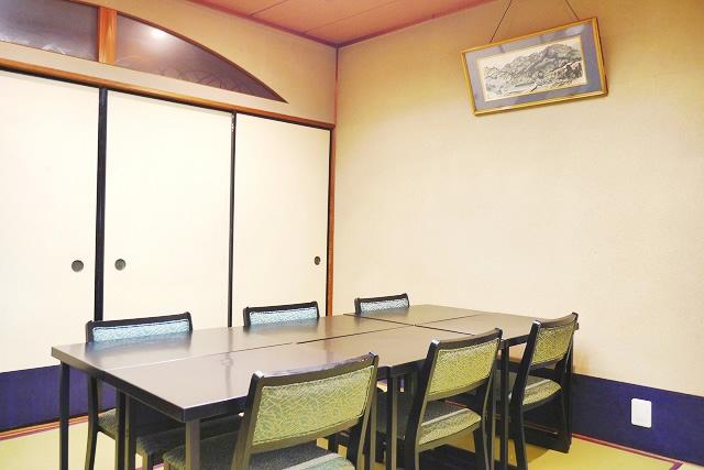 竹の間(旧館 2F)